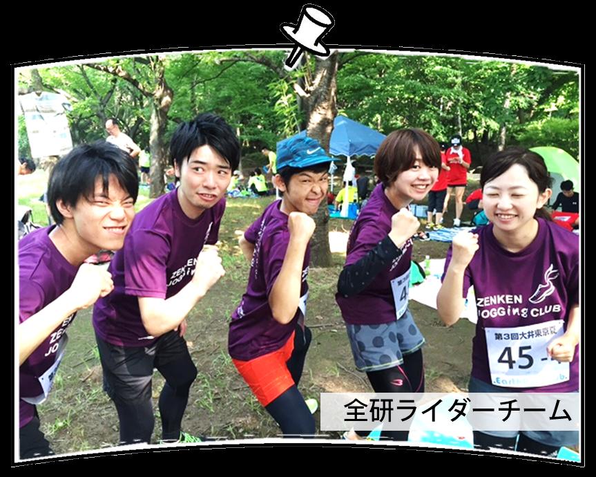 全研ライダーチーム