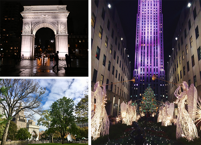 ニューヨーク、ロンドン、マンハッタン