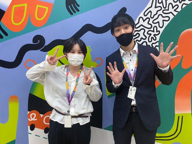 中尾さんと由美子さん